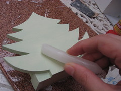 Porta-guardanapos (comofaz) Tags: christmas wood tree natal table diy paint napkin howto arvore decor paiting madeir