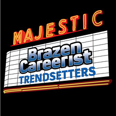 Majestic Theatre Brazen Careerist Event Logo