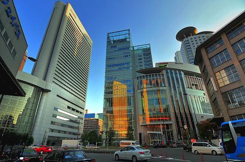 Buildings,Osaka