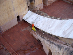 India (Loredana Affinito) Tags: india women veil step staircase jantar jaipur mantar