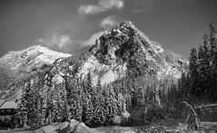 Guye Peak - The Return Trip (BHagen) Tags: seattle blackandwhite bw mountain snow blancoynegro washington nikon northwest hike alpental washingtonstate i90 snoqualmiepass guyepeak d80