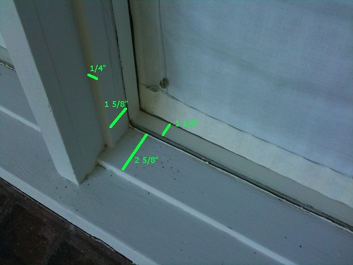 Window Sill Dimensions