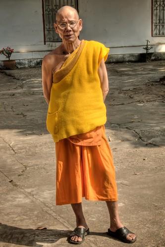 Standing Monk