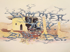 """Bummer, man. Bum. Er"" 2009 CHobbs (charleswesleyhobbs) Tags: art watercolor charles hobbs"