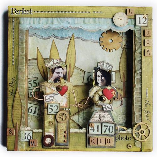 Lalki papierowe - Project 52