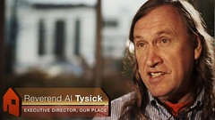 Reverend Allen Tysick, Executive Director Our Place Society - Hope & Belonging