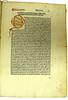 Decorated initial in Duranti, Guillelmus: Rationale divinorum officiorum