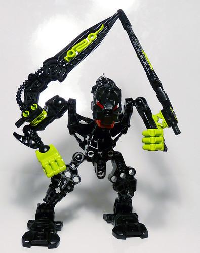 7136 - Bionicle Stars - Skrall - Assembled
