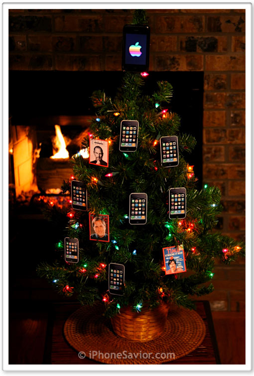 iPhone Christmas Tree 2009