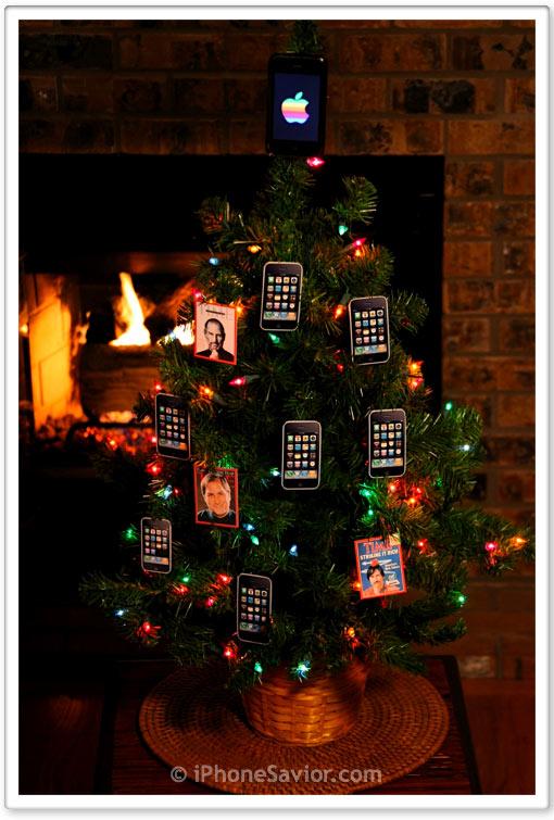 iPhone Christmas Tree 2009