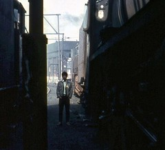 Stockport Edgeley Cheshire 28th April 1968 (loose_grip_99) Tags: railroad geotagged manchester sunday shed engine railway trains tony stockport depot locomotive enthusiast 1968 railways trainspotting lms mpd britishrailways edgeley lnwr 5mt black5 uksteam bunking almostanything gassteam endofsteam geo:lat=5339989 geo:lon=2164038