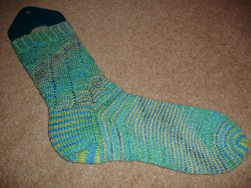 December sock WIP