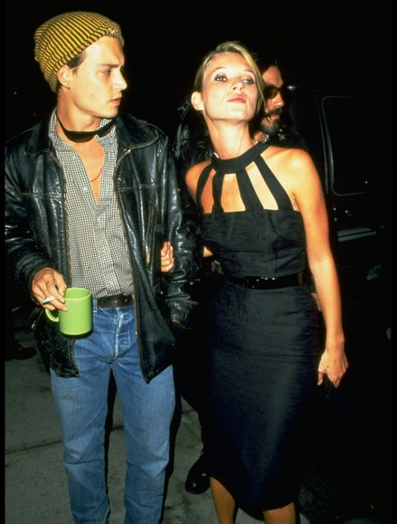 Kate Moss;Johnny Depp