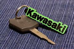 Keys 2 Kary (PoweredByAloe) Tags: green keychain key ninja limegreen 2006 motorcycle sportbike lime 06 kawasaki zx6r 636 ninja636 kawi