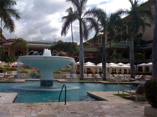 The Pool at the Four Seasons in Maui