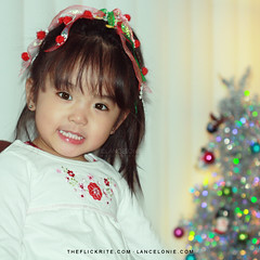 Sophia on Christmas Night by lancelonie, on Flickr