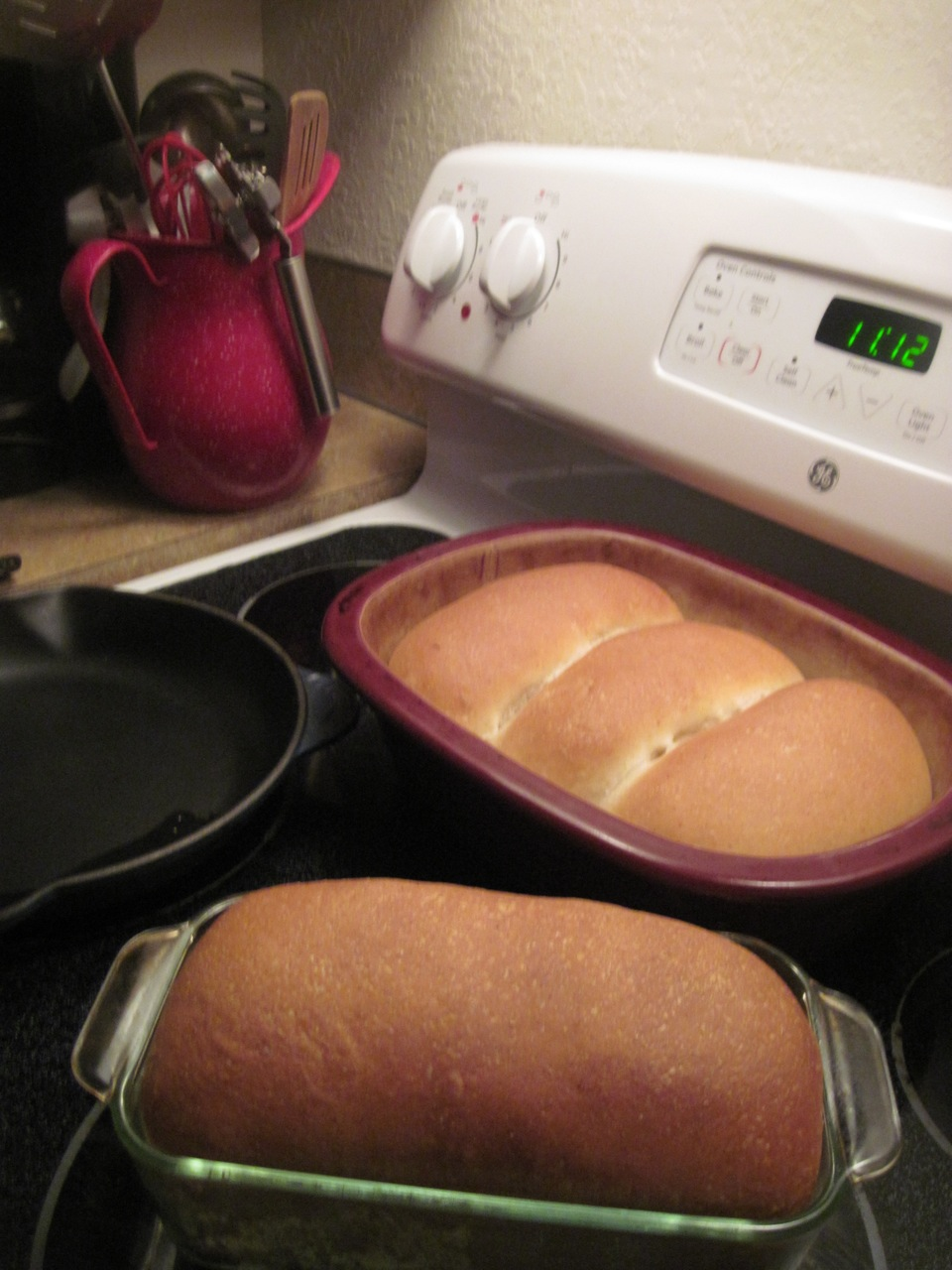 Why bake one loaf of bread when its as easy to make a few for everyone?