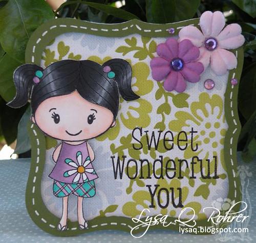 Sweet Wonderful You