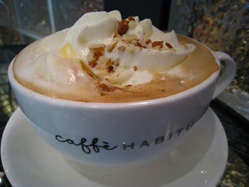 White Truffle Cream Latte @ Caffe Habitu