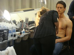 Victor Glemaud S 2010 Backstage + Presentation | MHT Productions (MHT Productions) Tags: newyork fashion hair glamour models makeup style production backstage fashionweek victorglemaud mhtproductions malemodelsshirtlessguys