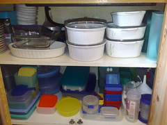 The Tupperware cupboard Pt1