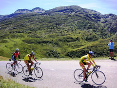 Classic Climbs group on the Col de la Madeleine