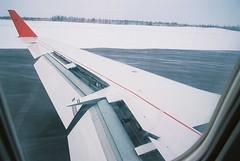 Landing! @ Yellowknife Airport (YZF/CYZF) (Hyougushi) Tags: canada airplane airport northwestterritories crj yellowknife yzf    jza yellowknifeairport cgkfr cyzf  ac8227