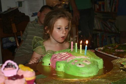Chloe the birthday girl