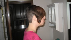 IMG_0870 (raiH enaS) Tags: haircut hair brittany shaved smoking short shorthair buzzednape