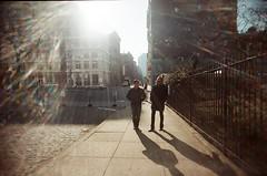 (Gigi Elmes) Tags: newyorkcity winter film shadows lensflare vivitar uws shabozza gigielmes