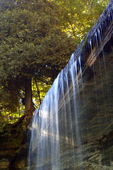Manitoulin Island waterfall