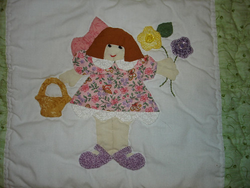 Lily's special quilt
