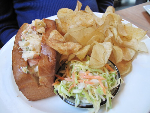 Lobster Roll at Anchor and Hope