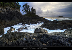 Tofino - Mackenzie Beach Surf (geoffthomasphoto) Tags: ocean bridge nature colors digital canon outdoors britishcolumbia sigma columbia vancouverisland 7d tofino british 1020mm hdr 2010 pacificrim mackenziebeach iamcanadian middlebeachlodge theperfectphotographer geoffthomas scenicsnotjustlandscapes