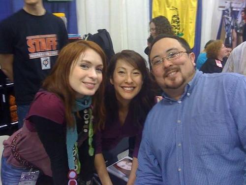 Felicia, Kim and Brian