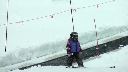 Skiing Talise