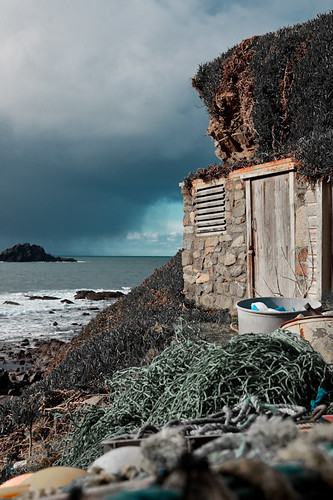Fishing Hut At Cape Cornwall
