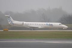 G-ERJA - 145229 - FlyBe - Embraer EMB-145EP - Manchester - 081126 - Steven Gray - IMG_2462