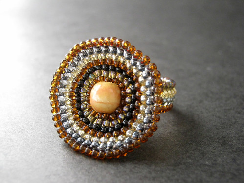 Sand Storm Ring by The Sage's Cupboard