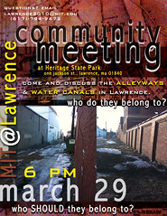 MIT@Lawrence Community Meeting - Alleyways