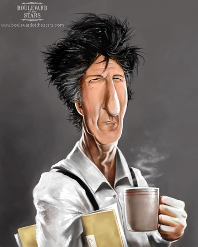 Dustin Hoffman Caricature