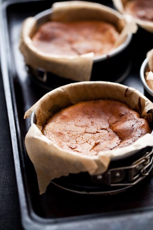 Gluten Free Pear Cardamom Cakes