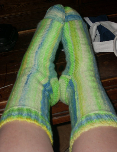 Sock Madness 4, Round 1 finished