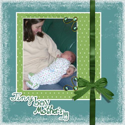 Tiny Boy Mother's Joy