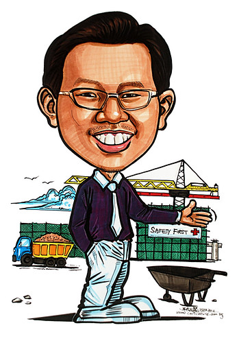Caricature for Ministry of Manpower - 18