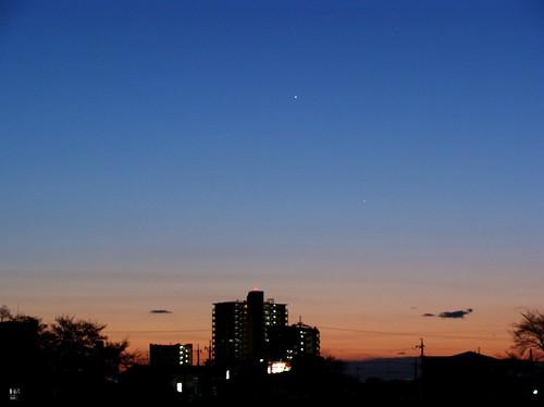 Venus and Mercury 金星と水星