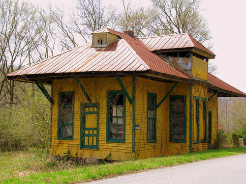 McKnight Station, TN depot