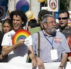 Sindicalistas y miembros de la casta política