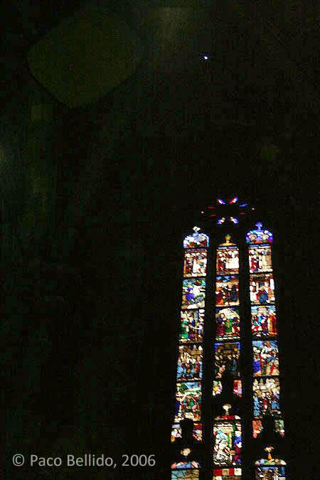 Hueco de entrada de la luz. © Paco Bellido, 2006