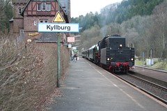 Kyllburg (Andy Engelen) Tags: train zug db eifel steam kyllburg dampfspektakel